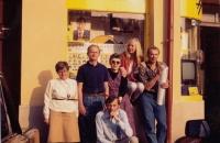 Při kandidatuře spolu s dalšími členy Občanského hnutí (Dagmar Helšusová sedící nahoře)