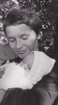 Drahoslava Janderová se svojí dcerou Terezou