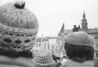 Generální stávka v Jihlavě 27. listopadu 1989