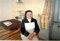 Pamätníčka vo vlastnej izbe počas služby v Pezinku