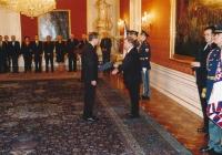 Josef Baxa je prezidentem Václavem Havlem jmenován předsedou Nejvyššího správního soudu (2003)