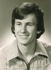 Josef Baxa maturantem (1978)