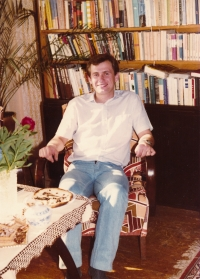 Josef Baxa as a law student (1970s - 80s)