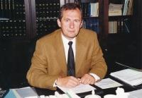 Josef Baxa jako náměstek ministra spravedlnosti, 2000