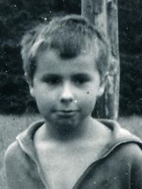 Jaromír Bláha, cca 9 let