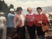 navšteva sesternice v USA v roku 1995