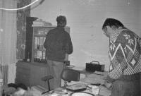 Kancelář jihlavského Občanského fóra