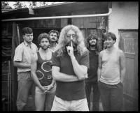 Lumír Sokol a skupina Oscar Band v roce 1988