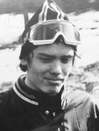 Pavel Svítil v roce 1975