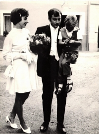 Svatba rodičů, 1969