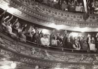 Liberec theatre, November 24, 1989