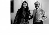 Jana Soukupová a Pavel Tigrid, začátek 90. let