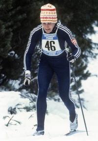 Květa Jeriová na Tatranském poháru v roce 1984