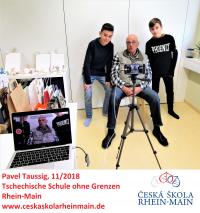 Kamerové zkoušky - žákovský tým s Pavlem Taussigem