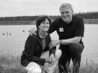 S manželem Zdeňkem Peckou