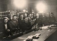 Zaměstnanci přerovské pošty v době 2. sv. války