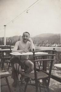 Richard Benda - bratr babičky Josefíny Ledererové, 26. 6. 1928