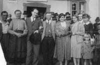 Jiří Voskovec v Hrašovíku, 1933