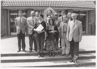 Svobodní demokraté na partnerské návštěvě parlamentu v Německu, Bonn, 1993