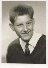 Michal Hron asi v 15 letech