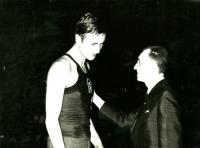 Jiří Zídek (left), undated photograph