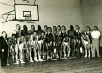 Jiří Zídek (bottom row, fifth from the left), undated photograph