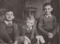 Bratr Jan Jelínek, Pavel Jelínek, Stanislav Andreas, 1940