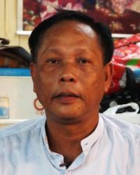 This photo was taken while AAPP was interviewing Aung Kyaw Moe (aka) Bo Tauk