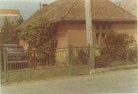 Dům rodiny Stefanových, Stropkov u Prešova, 1971