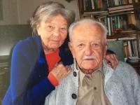 Lázló Regéczy-Nagy s manželkou 2019