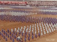 Pohlednice Spartakiáda