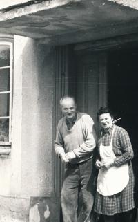 Rodiče Václava Daška, Ladislav a Marie, v 70. letech