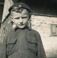Václav Dašek v roce 1955-1956
