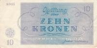 Bankovky v terezínském ghettu (Ghettokronen)