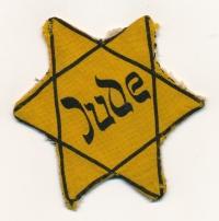 Hvězda, kterou museli Židé nosit jako označení