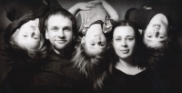 Vnučka Magdalena Kudláčková s rodinou