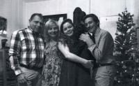 Syn Michal s rodinou