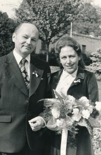 Svatba s Milošem Jiřím Žádníkem, 1979