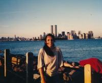Dcera Kateřina Henčlová v New Yorku