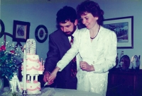 Syn Michal Lodin s manželkou