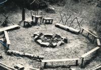 Táborový kruh v Kolodějích, 1970