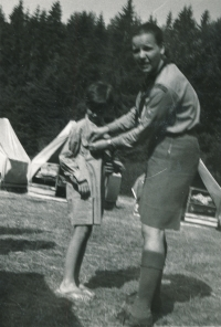 Na táboře v Kolodějích, 1970