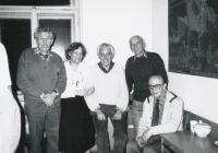 V organizační radě Junáka, 1990
