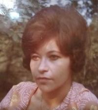Magda, portrét, Stropkov, 1962
