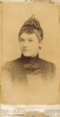 Ludmila Legnerová, babička Z. Velímské