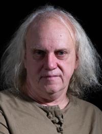 Miroslav Wanek při natáčení