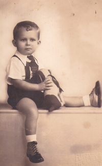 Jaroslav Skopal dvouletý, Košice, asi 1938-1939
