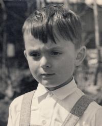 Libor Grubhoffer ve věku pěti let