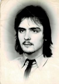 Mladý Milan Blažek