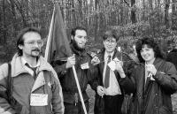 Milan Blažek jako organizátor akce Ruce Evropy